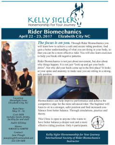 Rider Biomechanics Kelly Sigler